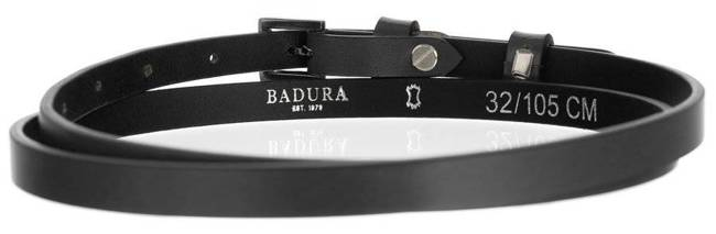Pasek damski szary BADURA PBD-1-A-105-8464 GRA