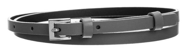 Pasek damski szary PD-NL-1-105