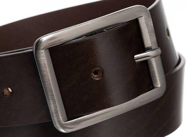 Pasek damski szeroki brązowy Badura PBD-4-A-105-8594 BRO