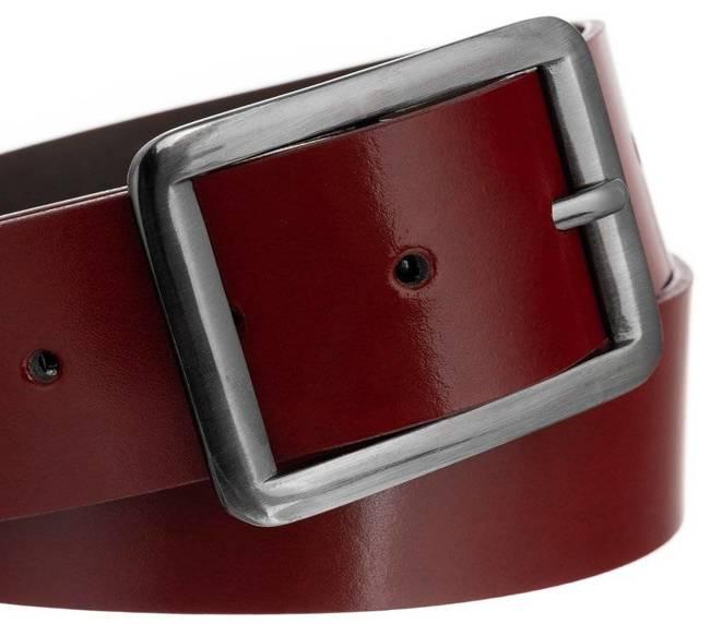 Pasek damski szeroki czerwony Badura PBD-4-A-105-8570 RED