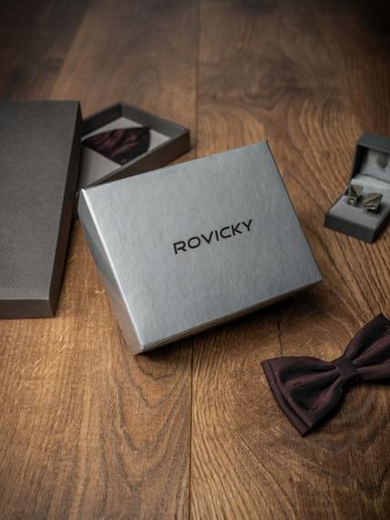 Pasek męski  Rovicky PWN-01-TX 110cm czarny