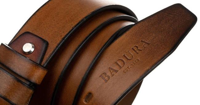 Pasek męski vintage j. brązowy Badura PBJ-05-C