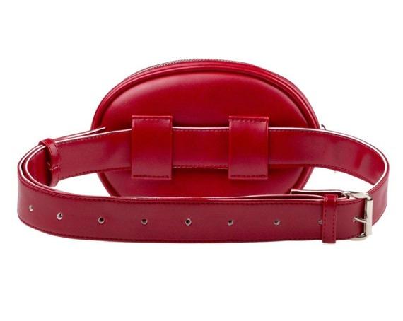 Pikowana nerka damska BN01 czerwona