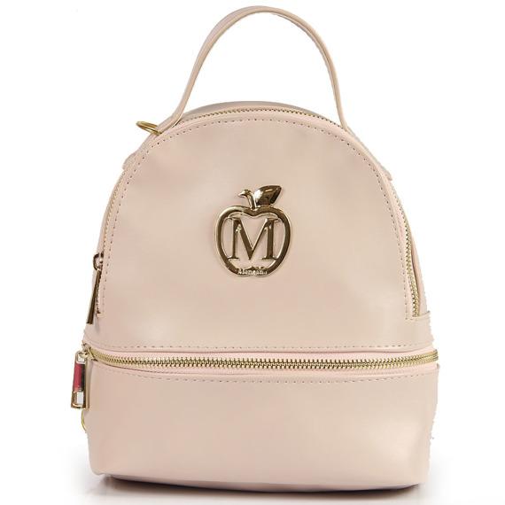 Plecak damski Manzana M76 pudrowy róż