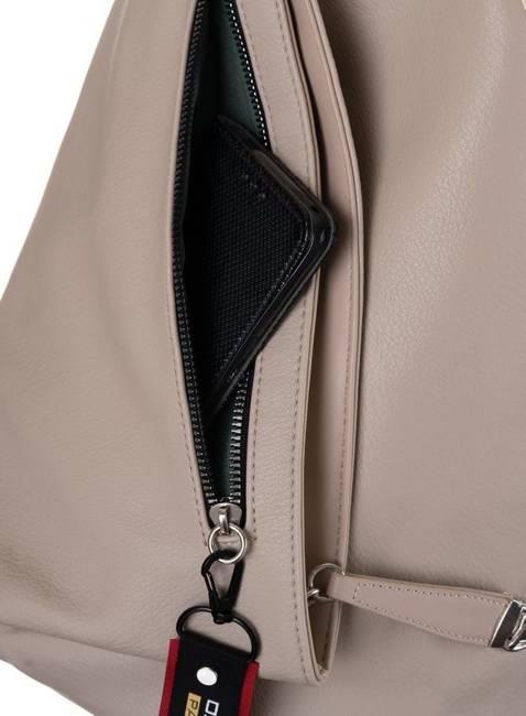 Plecak damski beżowy David Jones CM6008 BEIGE