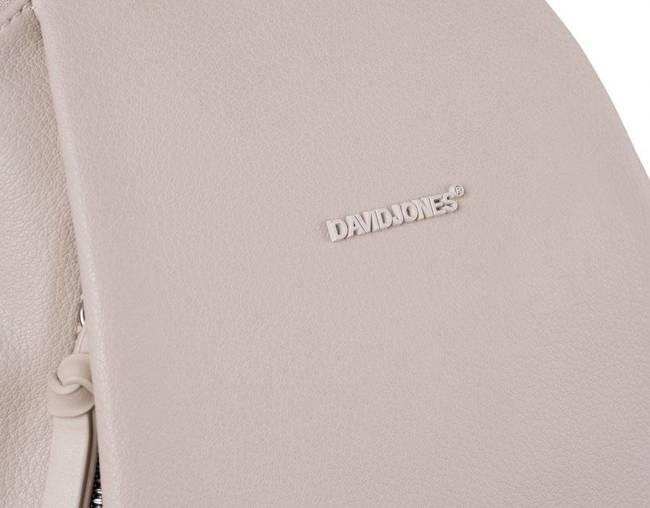 Plecak damski beżowy David Jones CM6026 BEIGE