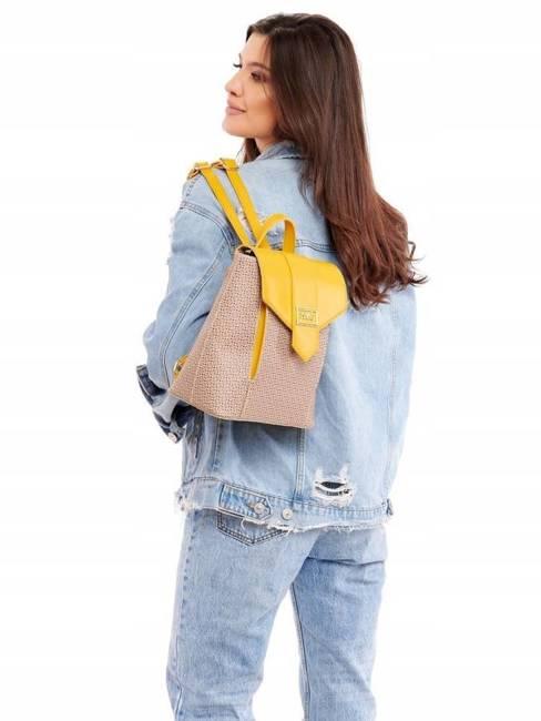 Plecak damski beżowy Nobo  NBAG-I3280