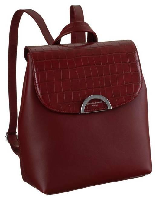 Plecak damski bordowy David Jones 6606-2A DARK RED
