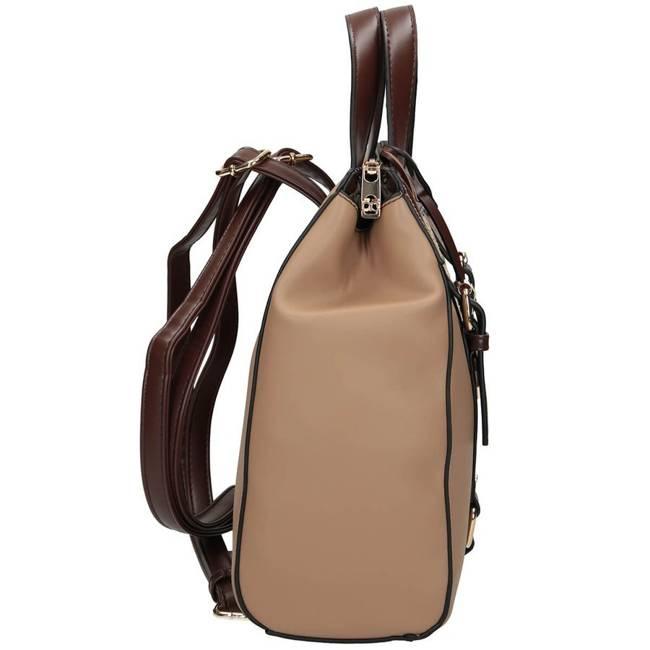 Plecak damski brązowy NOBO NBAG-K0590-C017