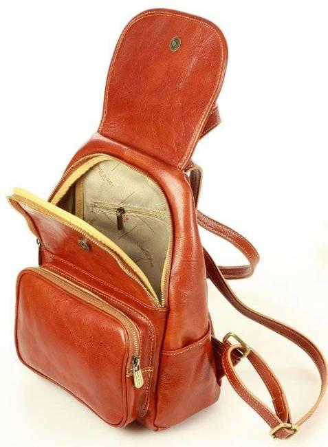 Plecak damski camel MARCO MAZZINI  PL62c