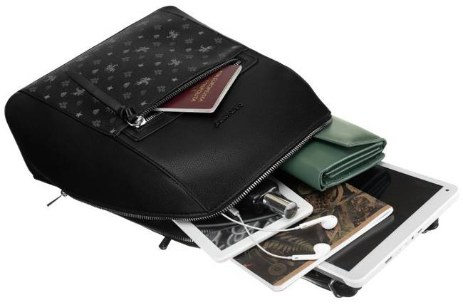 Plecak damski czarny David Jones 6531-2A BLACK