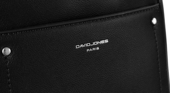 Plecak damski czarny David Jones 797703 BLACK