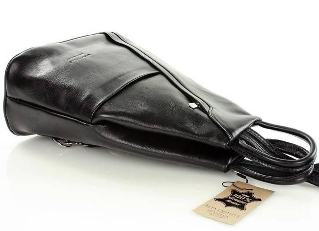 Plecak damski czarny MARCO MAZZINI PL2a