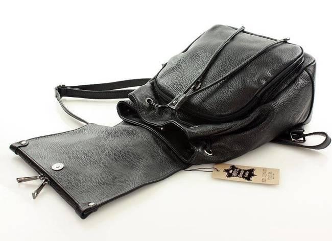 Plecak damski czarny MARCO MAZZINI pl32a