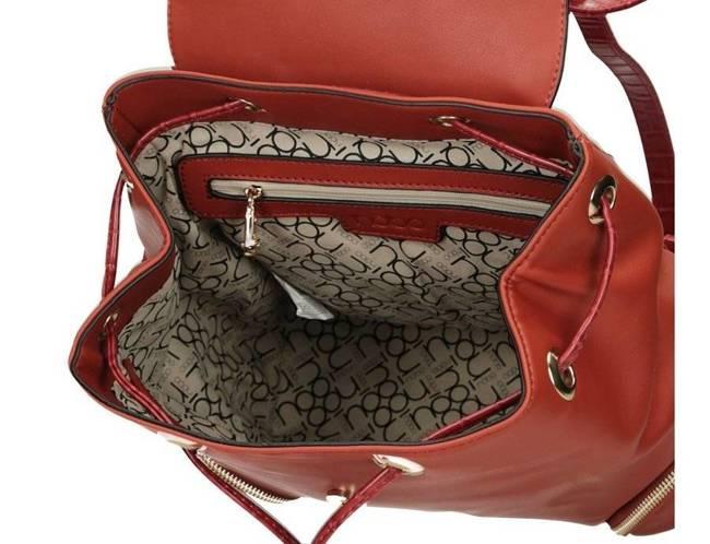 Plecak damski elegancki eko Nobo czerwony J0250