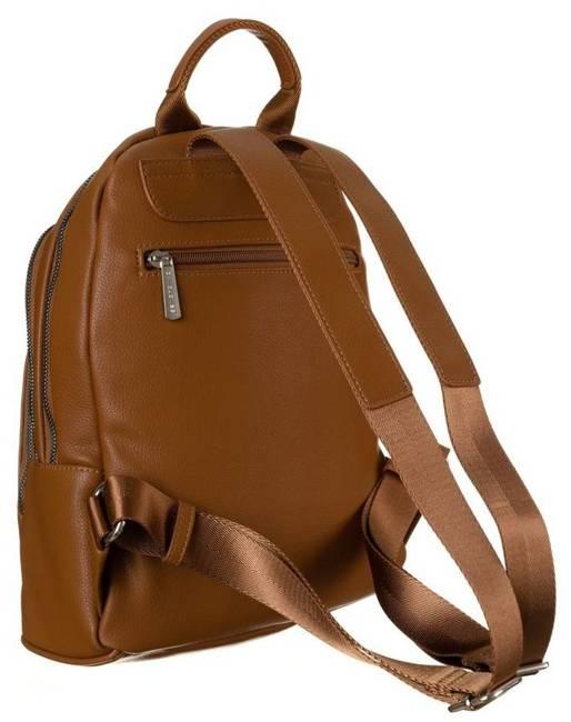 Plecak damski koniakowy David Jones CM6044A CONIAC