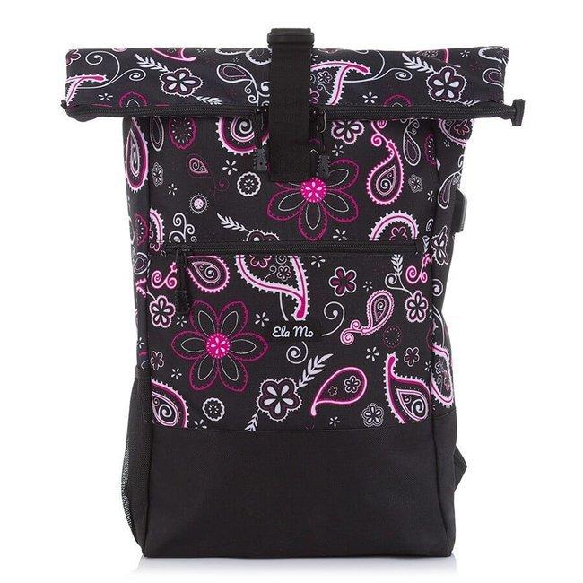 Plecak damski na laptopa z portem USB Bag Street 4086