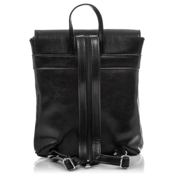 Plecak damski skórzany Paolo Peruzzi Z-03-PP bordowy