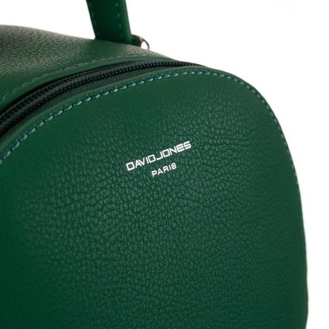 Plecak damski zielony David Jones  6269-1 GREEN