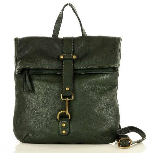Plecak damski zielony MARCO MAZZINI v72c