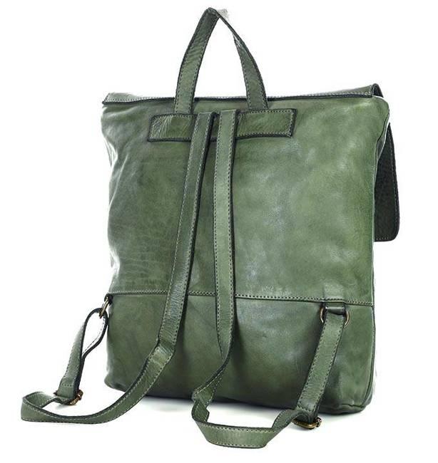 Plecak damski zielony Marco Mazzini v115c