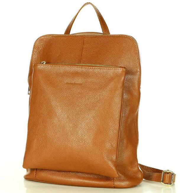 Plecak listonoszka 2w1 karmelowy MARCO MAZZINI Pl49L