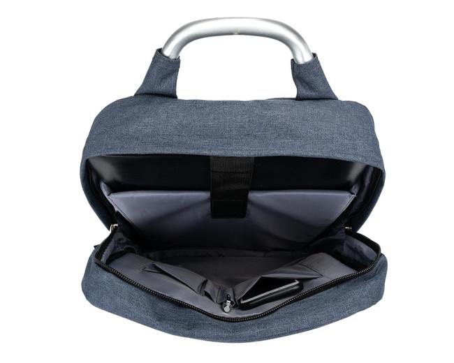 Plecak miejski na laptopa Solier SV09 NAVY granatowy