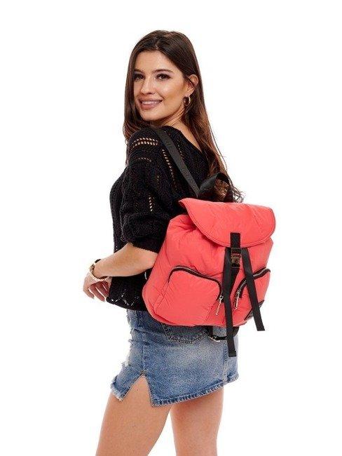 Plecak miejski sportowy damski Monnari czerwony 2700