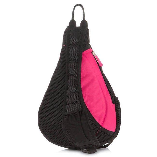 Plecak sportowy na jedno ramię różowy Bag Street 4388
