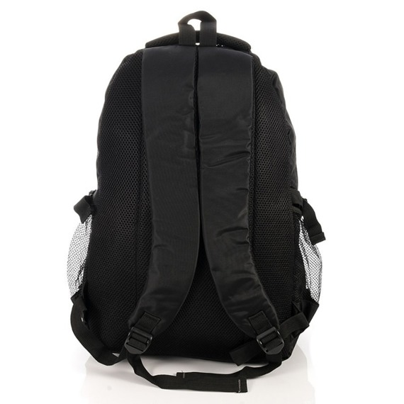 Plecak sportowy szkolny wododoporny Bag Street czarny 4037-1