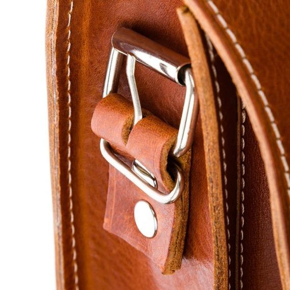 Plecak torba 2w1 skórzany Paolo Peruzzi S-12 brązowy