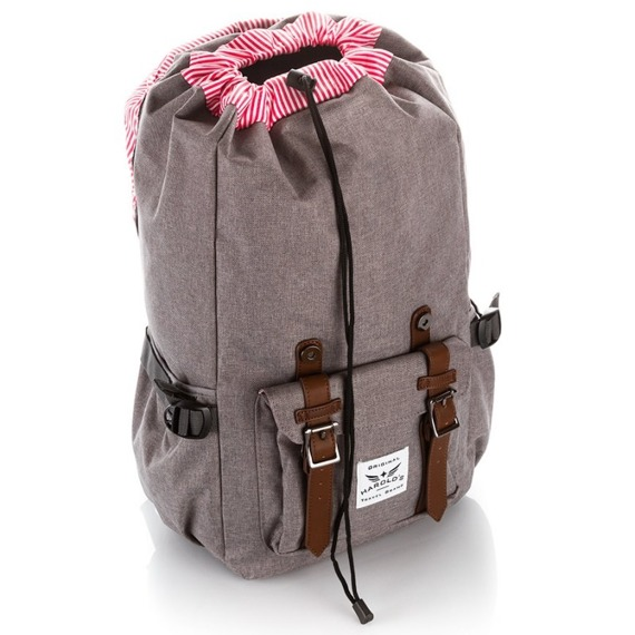 Plecak trekkingowy na laptopa męski Harold's 4075 czarny