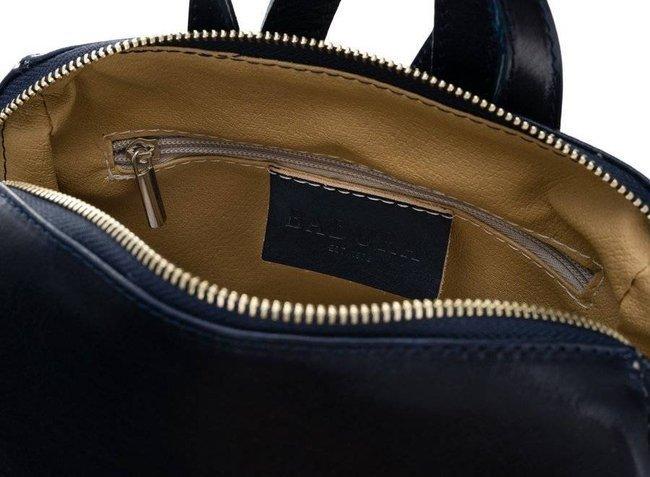 Plecak w stylu vintage granatowy  Badura T_D187GR_CD