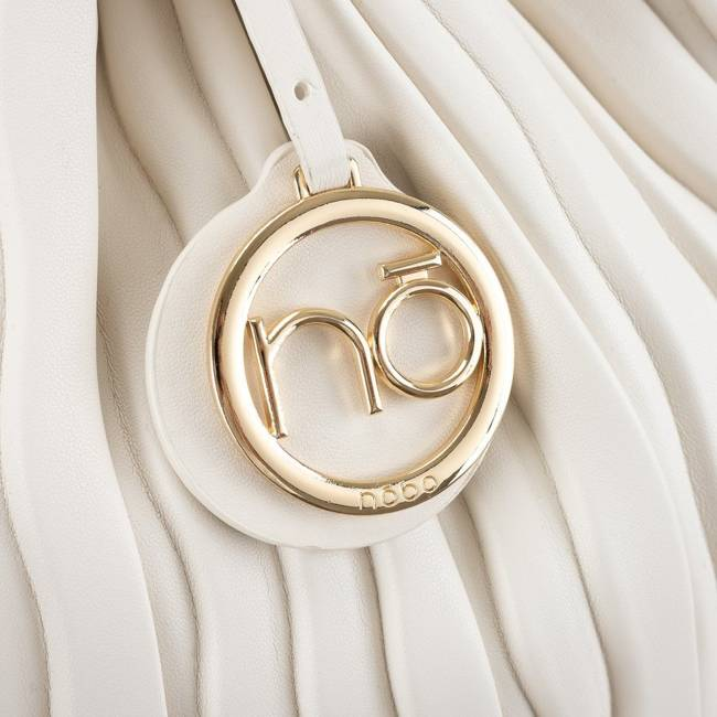 Plisowany worek biały Nobo NBAG-K3600-C000