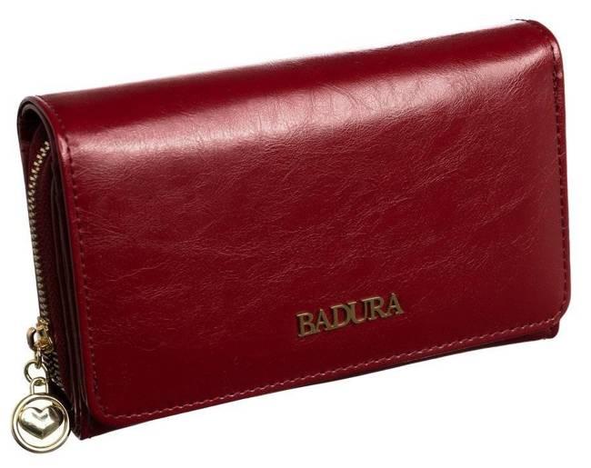 Portfel damski Badura B-8806P-BPR czerwony