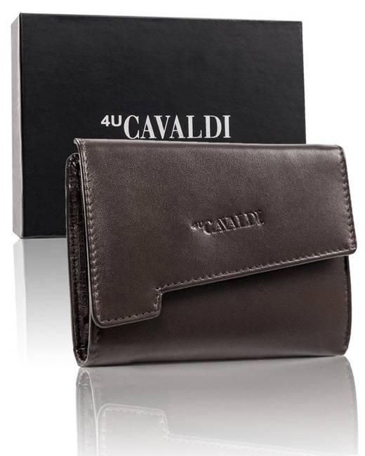 Portfel damski brązowy Cavaldi RD-DB-05-GCL-7252 D
