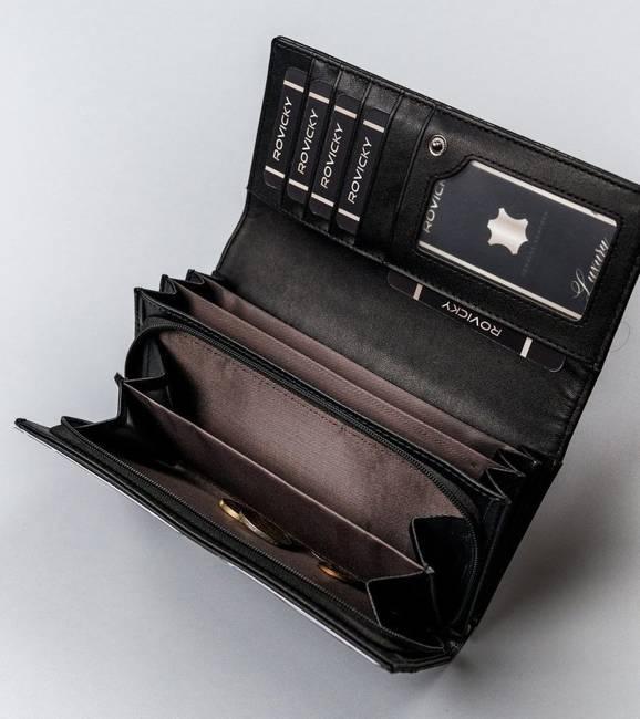 Portfel damski czarny Cavaldi GD20-17-1873 S.BLACK