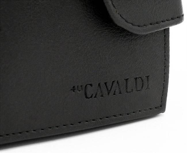 Portfel damski czarny Cavaldi #N26-PU3 BLACK