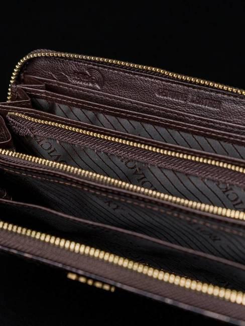 Portfel damski czarny Rovicky 8807-JXW BLACK