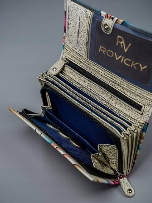 Portfel damski czarny Rovicky  R-N22-ART-07 BLACK