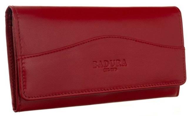 Portfel damski czerwony Badura PO_D117CR_CE