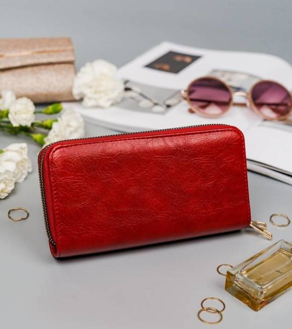 Portfel damski czerwony Cavaldi LPD-01-5280 RED