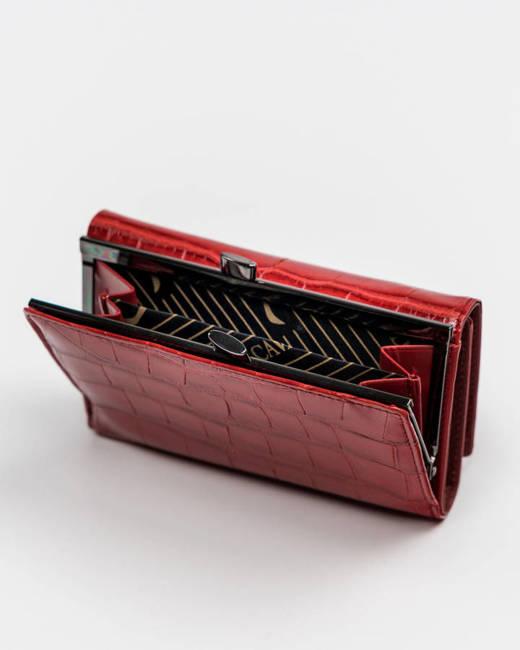 Portfel damski czerwony Cavaldi PX23-CR-0598 RED