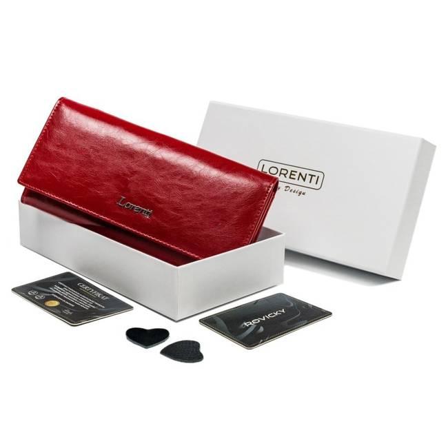 Portfel damski czerwony Lorenti 72037-BPR-1356 RED