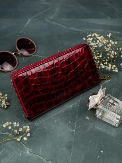 Portfel damski czerwony Lorenti  77006-PT RED
