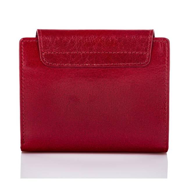 Portfel damski czerwony PAOLO PERUZZI RFID T-12-RD