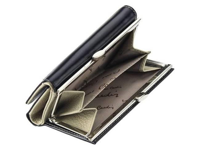 Portfel damski granatowy Pierre Cardin 01 LINE 117 NIEBIESK