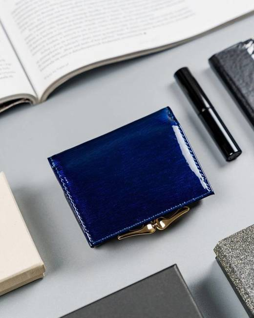 Portfel damski niebieski Lorenti 55287-3D-RFID BLUE
