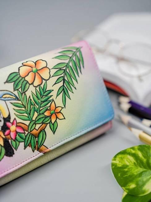 Portfel damski rózowy Rovicky R-N22-ART-04 PINK