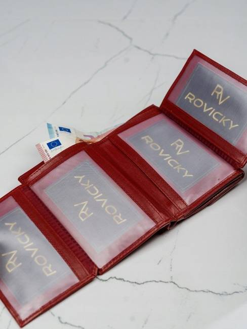 Portfel damski skórzany Lorenti RD-03-BAL czerwony